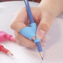 5Pcs Pencil Grip Ergonomic Writing Aid for Righties Kids Learning Hold Pen Posture Correct Fit on Crayon