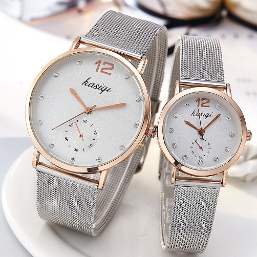 2019 New Brand Korean Fashion Originality Steel Bring Wrist Watch Woman Man Lovers Electronics Quartz Watch Relogio Masculino