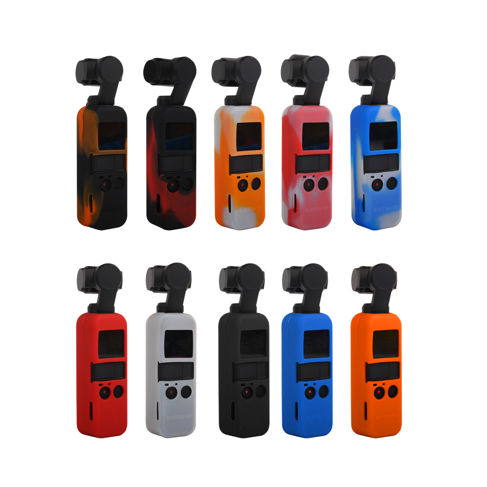 Silicone Protective Case Cover for DJI Osmo Pocket Camera Gimbal Accessories Kit