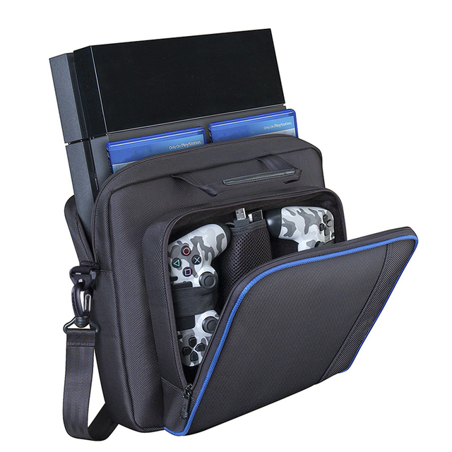PS4 Accessories Play Station 4 Joystick Console Bag Carry Pouch Normal PS4 Game Console Storage Bag for PlayStation 4 Video Game