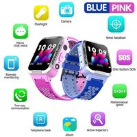 Y38 Children's Smart Watch Sim Card Color Touch LBS Positioning One Touch SOS Anti Lost Waterproof For IOS Android Smart Watch F
