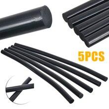 5 ชิ้น/เซ็ตกาว Hot Melt Stick สีดำกาวกาวกาวรถ Body Paintless Dent 11 มม.สำหรับ DIY หัตถกรรมของเล่นซ่อมเครื่องมือ