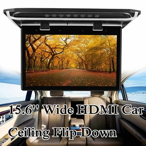 "Image 2 - 15.6 ""واسعة HDMI سقف السيارة شاشة تقوم بالقلب للأسفل سقف جبل لاعب سقف جبل شاشة تقوم بالقلب للأسفل 1920*1080"