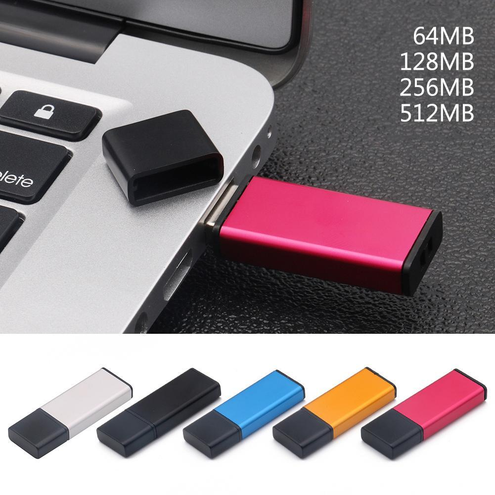 Mini 64M 128M 256M 512M U Disk Zinc Alloy High Speed USB2.0 Flash Storage Drive Memory Stick Creative Simple USB 2.0 Fast U Disk