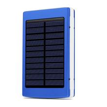30000mAh Solar Charger Solar Power Bank External battery Charger Waterproof Powerbank for Smartphone with LED Light Dual usb