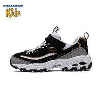 Детские Ботинки SKECHERS Skye странные детская обувь Для мужчин и Для женщин детей кроссовки маленькие белые туфли родителей панда обуви 996212L/WSL