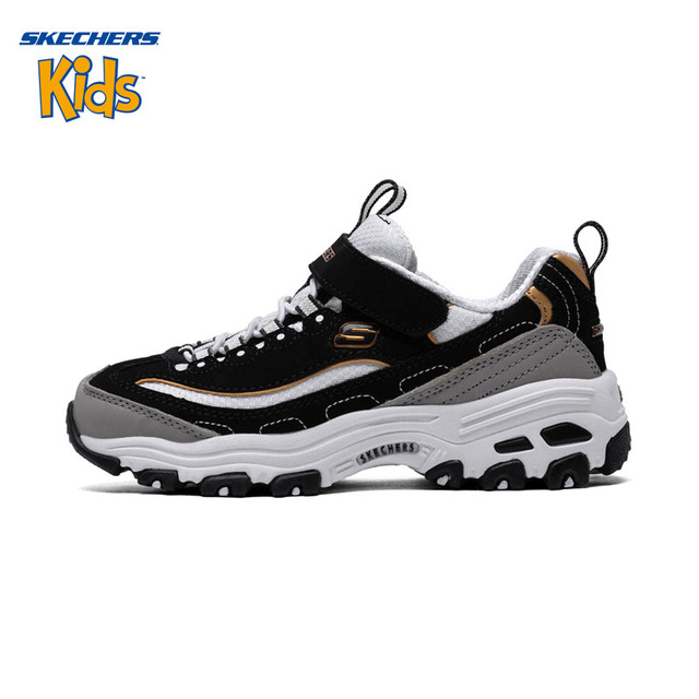 09a95a04f9bc SKECHERS KIDS Skye Strange Baby Shoes Men And Women Children Sneakers Small  White Shoes Parenting Panda Shoe 996212L WSL BKGD