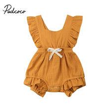 Mini Bow Baby Rompers Autumn Princess Newborn Baby