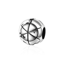 New arrival 925 Sterling silver Mini earth charms beads Fit original Pandora bracelet fashion diy Jewelry Making for Women gift new arrival charms sterling silver 925 hat beads fit original pandora charm bracelets diy jewelry accessory making for men gift
