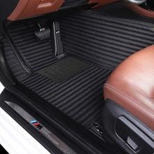 Myfmat foot leather rugs car floor mats for Cadillac CTS CT6 SRX Escalade SLS ATSL XTS XT5 ATS Chevrolet Blazer SPARK Sail EPICA kalaisike universal car floor mats for cadillac all models srx cts escalade ats ct6 xt5 xts sls ct6 atsl car accessories styling