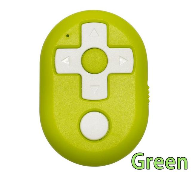 ポータブルリモコンワイヤレス Bluetooth セルフタイマービデオページターンシャッター多機能軽量 Mni デバイス電話用
