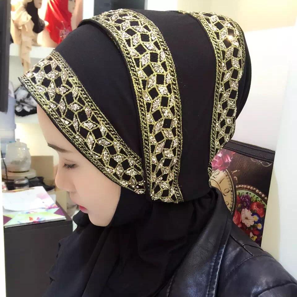 70*180cm Female Islamic Hijab Head Scarf Turban Casual Saudi Arab Malaysia Muslim Ramadan Ethnic woman Shawl Scarves