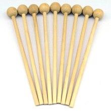 4 шт музыкальные палочки Ударные Палочки для еды молоток подарок DIY игрушка Ручка инструмент Дерево maraca