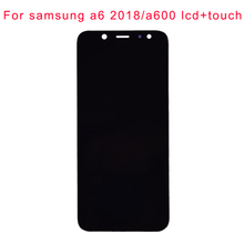 JPFIX Super AMOLED For Samsung Galaxy A6 A600F LCD Display Touch Screen Replacement Parts