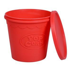 FDA Silicone Popcorn Bowl Home Microwaveable Pop Corn Maker Bowl Microwave Safe Popcorn Bakingwares Bucket(China)