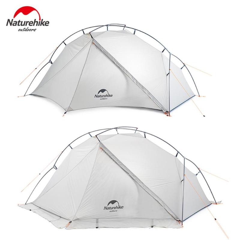 1 Person 4 Season 15d Pu 800mm Camping Tent Outdoor Ultralight Hiking Backpacking Hunting Waterproof Tents Warm And Windproof