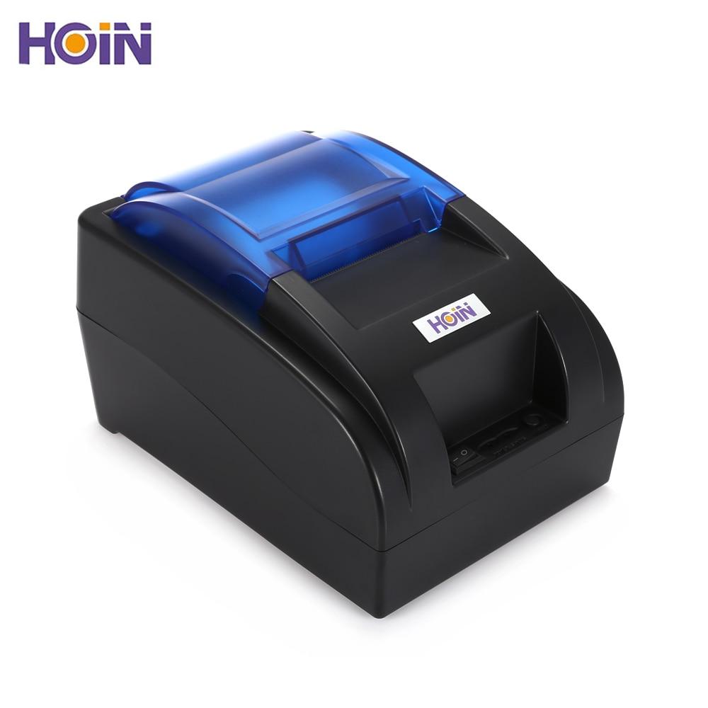 Angemessen Hoin Hop H58 58mm Usb/bluetooth Thermische Drucker Erhalt Maschine Unterstützung Usb/bluetooth Verbindung Restaurant Ticket Drucker Gesundheit FöRdern Und Krankheiten Heilen