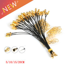 5PC PCI U.FL to SMA Female Connector Antenna WiFi 1.13 Pigtail Cable IPX to SMA Extension Cord For PCI Wifi Card Wireless Router(China)