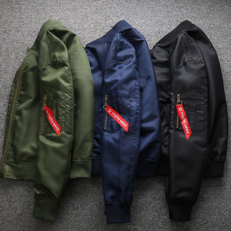 Bomber Green Vol Zipper Grand 6xl Hommes 1 Baseball 2018 D'hiver Taille Black Air army M Force Vestes Manteaux blue Ma Militaire Veste ORxwCAq