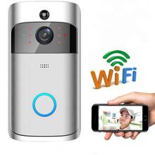 Video Camera Infrared Night Vision Phone APP Control Intercom Doorbell Two-Way Talk WIFI Wireless Visual Doorbell Smart cheap Doorbells Door Bell Battery