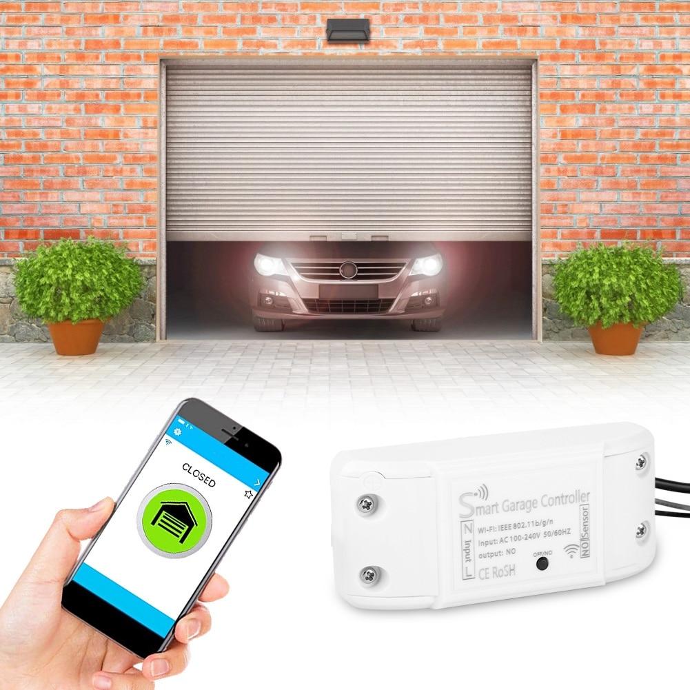 Garage Door Remote Control Smart Door Opener Device Close ...