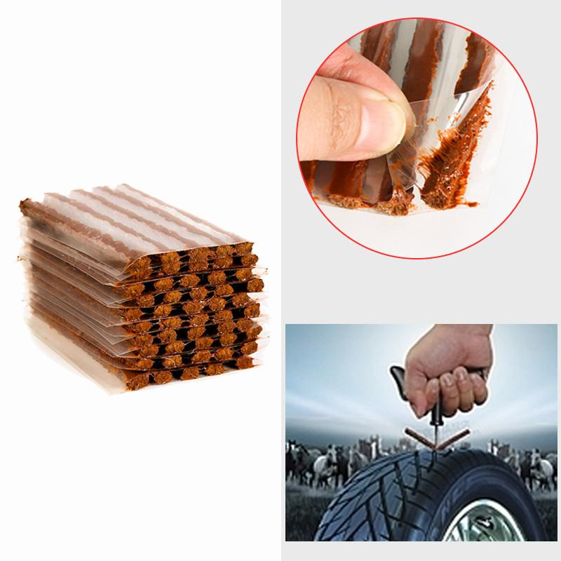 Tubeless Tire Repair Tools Strips Stiring Glue For Tyre Puncture Emergency DM