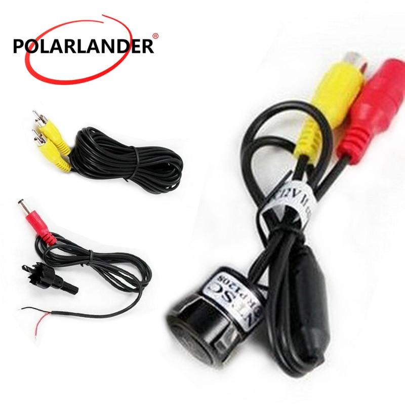 PolarLander Rear Camera HD CCD Cam/éra arri/ère de Voiture Inverser cam/éra invers/ée de Voiture Cam/éra de recul de 170 degr/és
