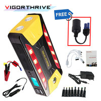 Portable Mini Multifunction Emergency Car Jump Starter Discharge Rate Diesel Auto Power Bank 12V Booster Start Jumper Battery
