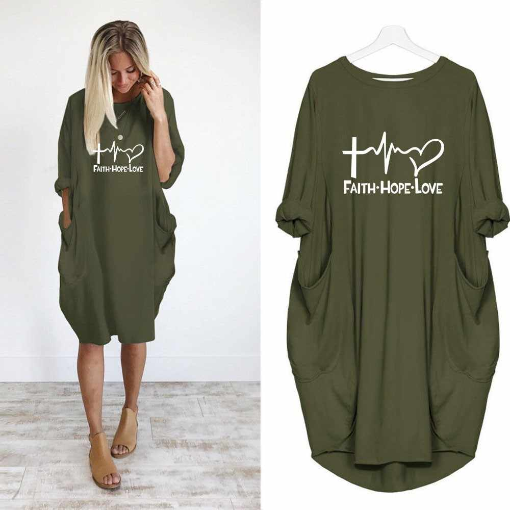 2019 Nieuwe Mode shirts Fashion Geloof Hoop Liefde Letters Print Tops Tshirt Grappige Kyliejenner Rock tshirt vrouwen plus size