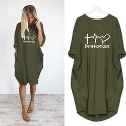 2019 New Fashion shirts Fashion Faith Hope Love Letters Print Tops Tshirt Funny Kyliejenner Rock tshirt women plus size 1