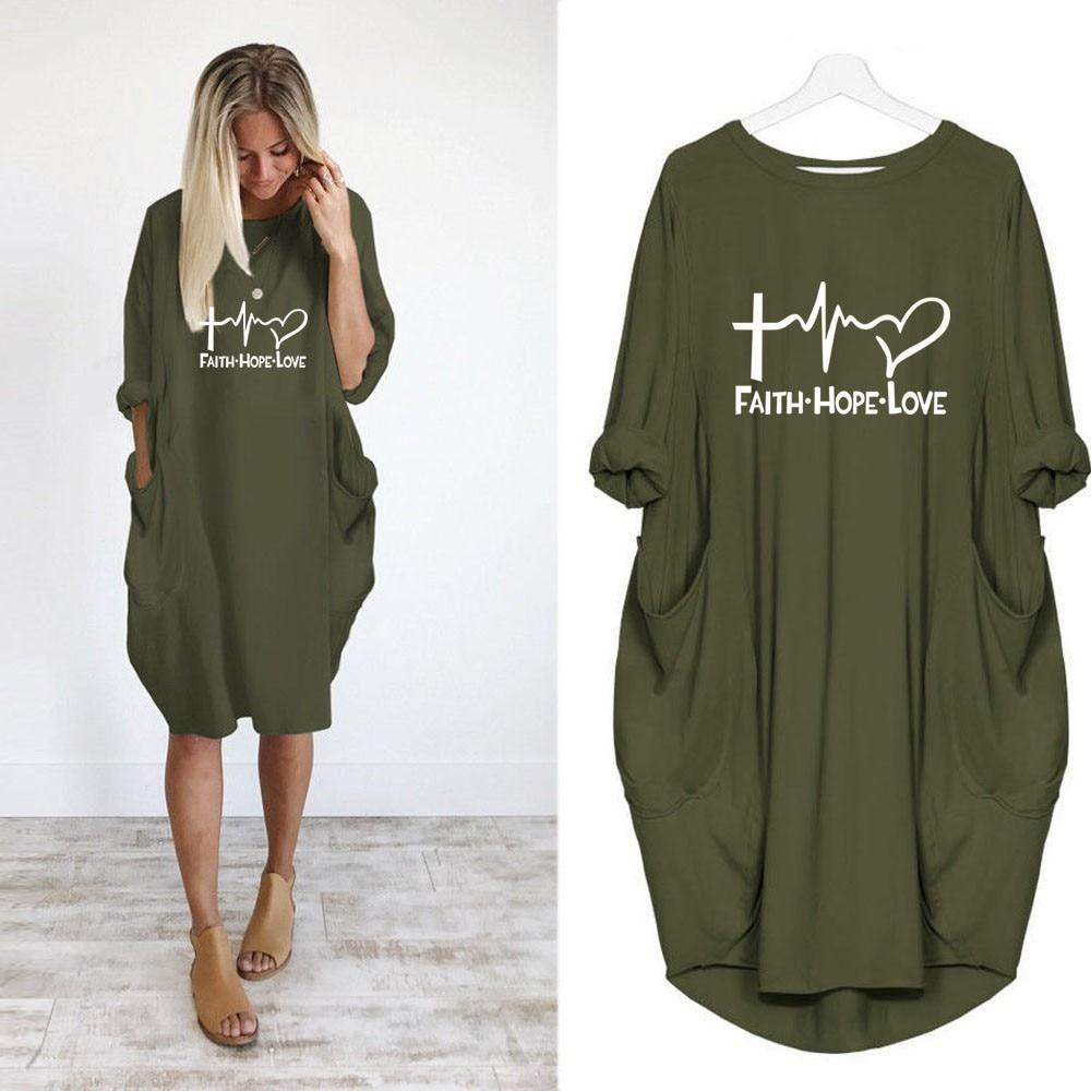 2019 New Fashion Shirts Fashion Faith Hope Love Letters Print Tops Tshirt Funny Kyliejenner Rock Tshirt Women Plus Size