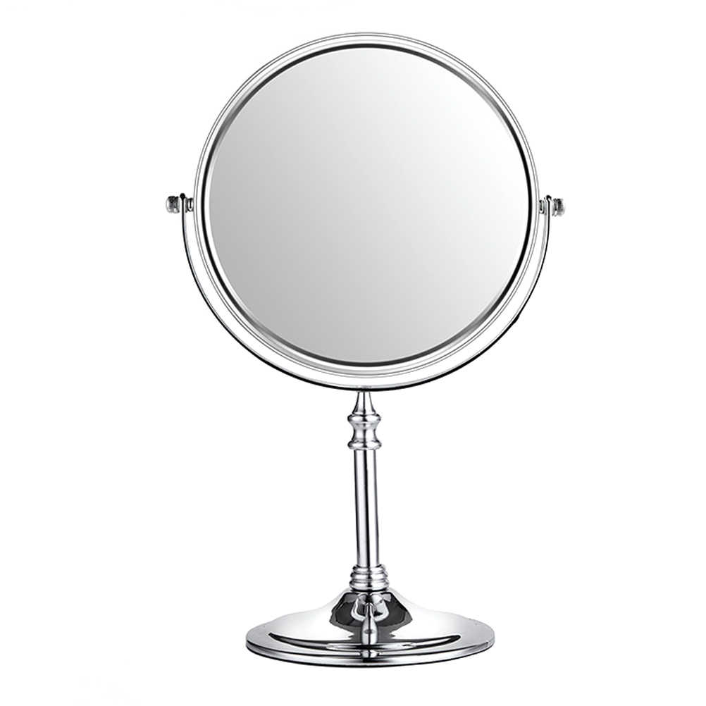 6 Inch 3x Magnifying Round Mirror Double Sided Free Standing Table Top Makeup For Detailed Mirrors Bathroom