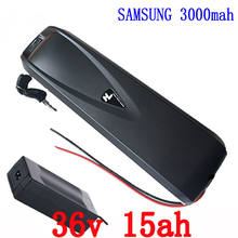 US EU No Tax 36V 15Ah Hailong Battery use Samsung 18650 Cell Electric Bike Battery 36V 500W Li-ion Battery Pack for 8Fun(China)