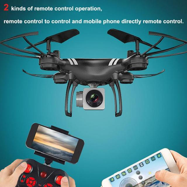 WIFI Remote Control Quadcopter HD Camera Outdoor Toys 360 Degree Rotation Drones