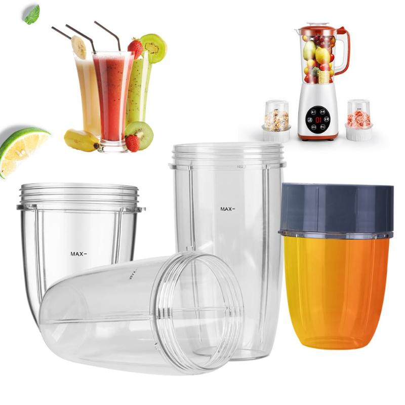 18/24/32oz Small Clear Cups Mugs Replacement Part Juicer Accessories for NUTRiBULLET Nutri Bullet Blender Juicer 600W/900W 2 pcs not same household blender replacement cross extractor stainless steel blade spare part for nutribullet 600w 900w sr076