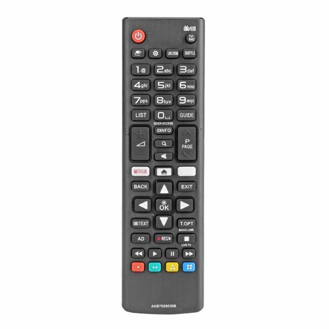 אוניברסלי LG טלוויזיה החלפת שלט רחוק חכם מרחוק בקר AKB75095308 עבור LG טלוויזיה 43UJ6309 49UJ6309 60UJ6309 65UJ6309