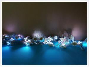 Image 4 - Oświetlenie pikselowe led moduł WS 2811 odsłonięte światło punktowe WS8206 / WS2811 SMD3535 3 LED DC12V 30mm * 30mm * 15mm programowalne