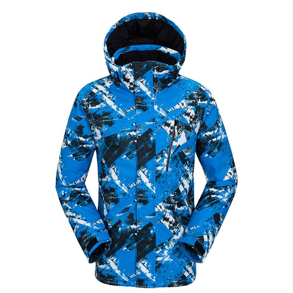 Hommes femmes Floral Ski costume hiver imperméable coupe-vent épaissir chaud neige vêtements Ski ensembles veste + pantalon Ski snowboard
