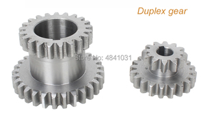 Image 3 - 21 adet mini torna dişliler/CJ0618 346B Metal kesme makinesi dişliler/Metal dişli seti (metrik)