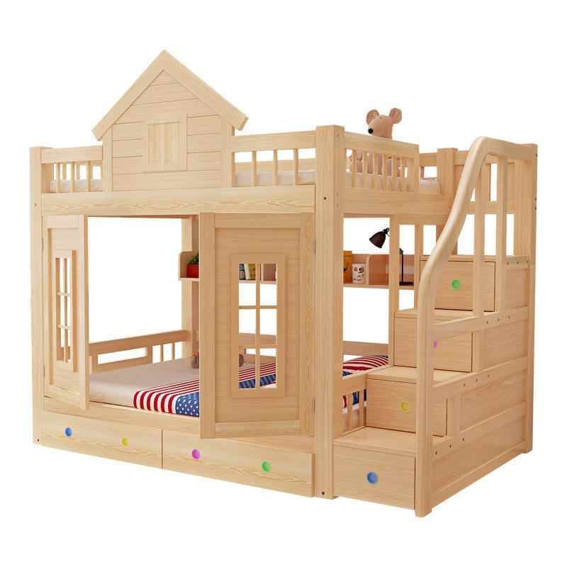 Dormitorio Kids Single Modern Deck Mobili Per La Casa Letto A Castello Moderna bedroom Furniture Mueble Cama Double Bunk Bed