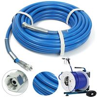 15m Spray Hose Airless Hose 5000PSI High Pressure Pipe Airless sprayer Airless Paint Hose For Sprayer Gun Sprayer Water