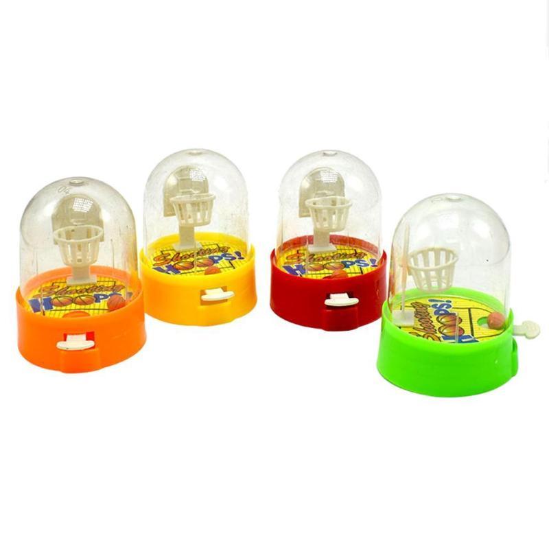 1PC Mini Finger Shooting Toys Desktop Games Shooting Machine Kids Toys Training Interest Toys For Children Gifts Random Color
