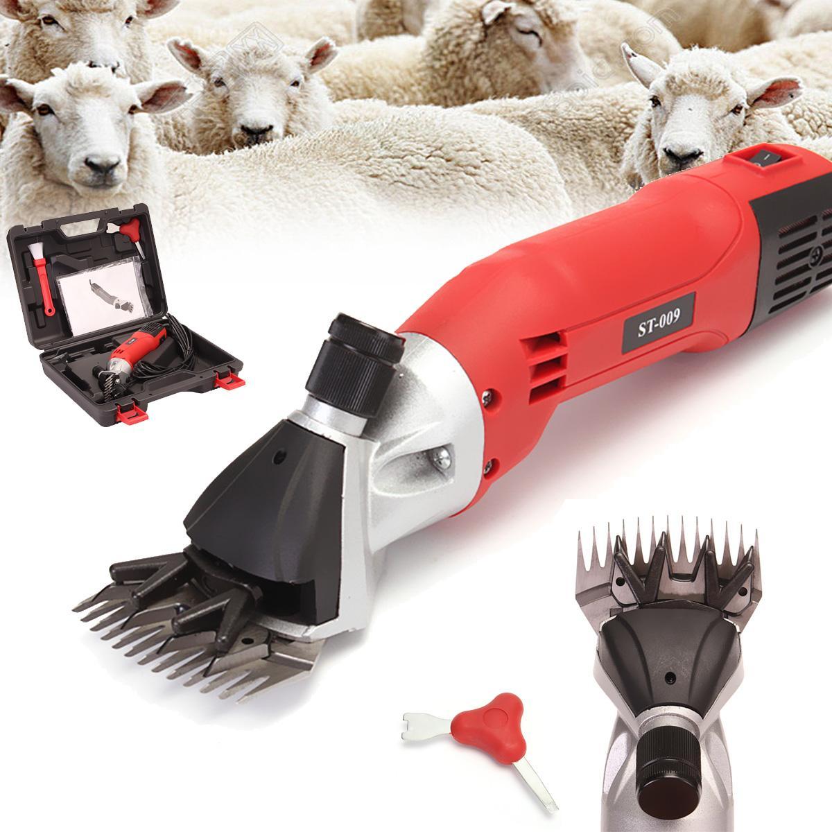 110V 500W Electric Sheep Goat Shearing Clipper Scissors Shears Farm Machine Cutter 2400r/min 60Hz US Plug110V 500W Electric Sheep Goat Shearing Clipper Scissors Shears Farm Machine Cutter 2400r/min 60Hz US Plug