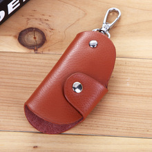 Genuine Leather Automobile Key wallets cow leather key Multi-function wallet y011