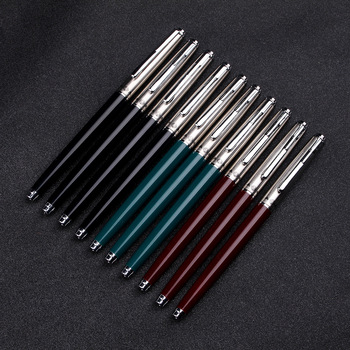 Metal Fountain Pen Without Pencil Box luxury school Office Stationery luxury Writing Cute pens gift ink pens for writing Fountain Pens