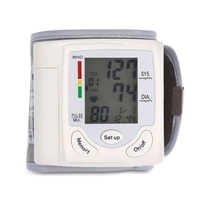 ilincare Health Care Automatic LCD Wrist Digital Blood Pressure Monitor for Measuring And Pulse Rate Household Medical Equipment