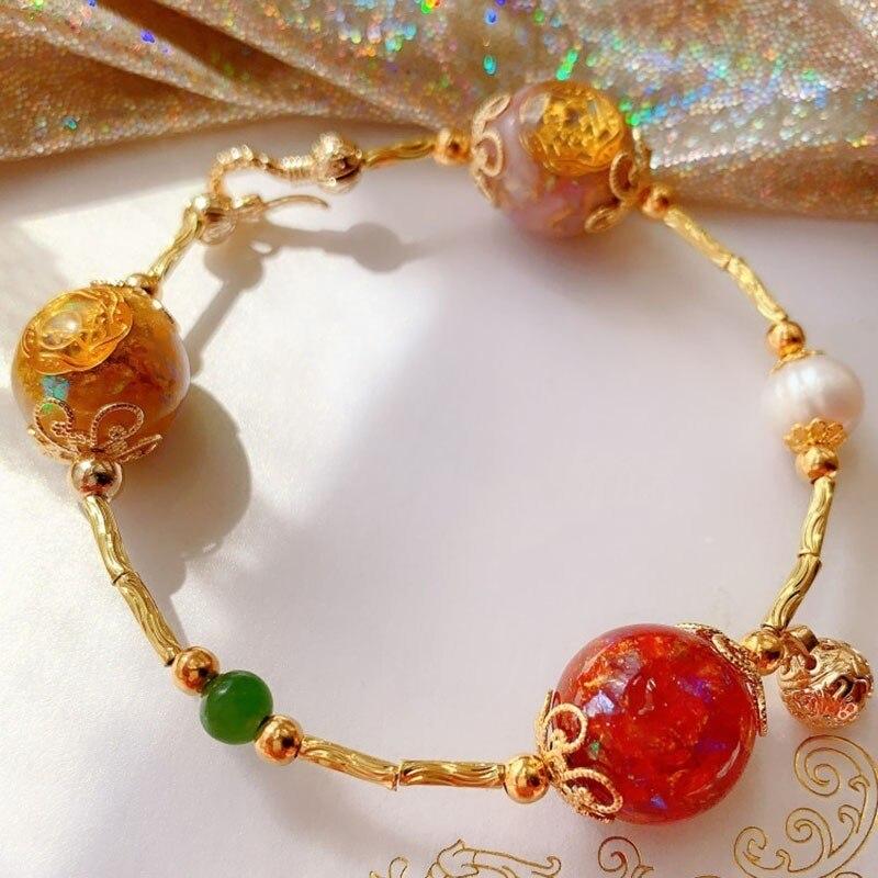 AURA Orgonite Energy Converter Crystal Bracelet Emotional Relationship Transfer Bracelet Soothe The Soul Decorative Jewelry