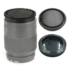 50 adet/grup kamera arka Lens kapağı Sony DSLR A Alpha serisi A290 A380 A390 A850 A230 A300