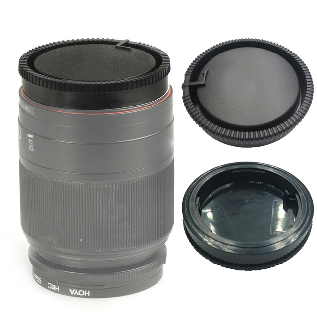 50 stks/partij camera Achterste lensdop voor Sony DSLR EEN Alpha Serie A290 A380 A390 A850 A230 A300