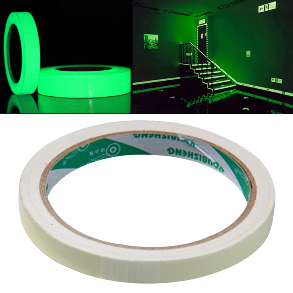 Hot Home Party Safety Car Sticker Self-Adhesive Glow In Dark Luminous Tape